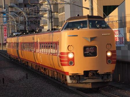 381系特急はしだて 山陰本線二条駅