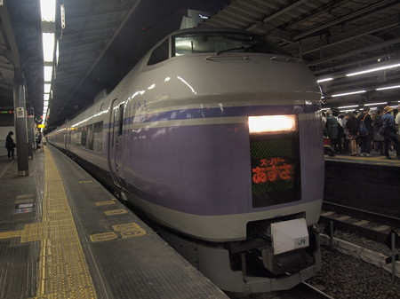 E351系特急スーパーあずさ 中央本線新宿駅02