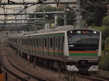 E233系普通 湘南新宿ライン池袋~新宿