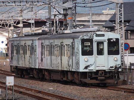 105系普通 紀勢本線和歌山駅