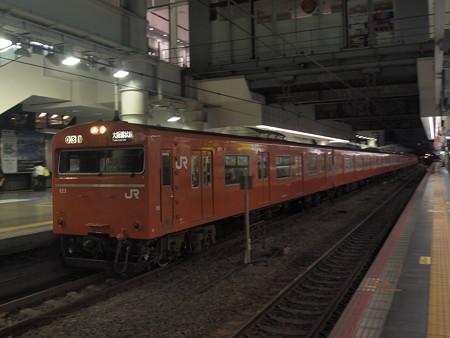 103系普通  大阪環状線大阪駅04