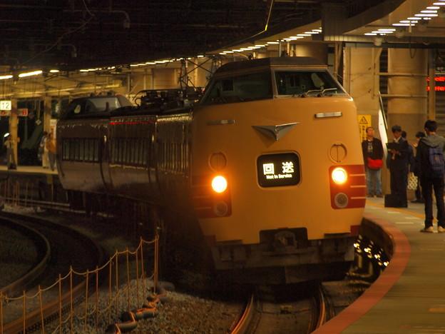 381系特急こうのとり   東海道本線新大阪駅07