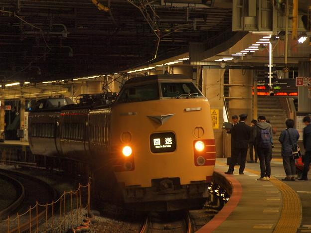 381系特急こうのとり   東海道本線新大阪駅09