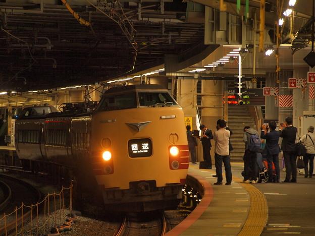 381系特急こうのとり   東海道本線新大阪駅10