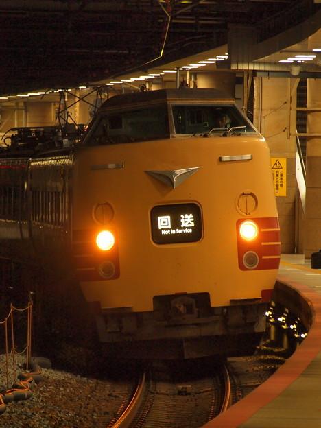 381系特急こうのとり   東海道本線新大阪駅16