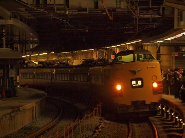 381系特急こうのとり 東海道本線新大阪駅03