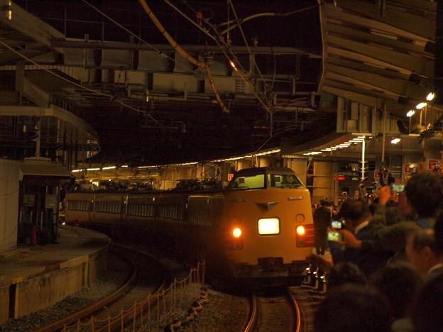 381系特急こうのとり 東海道本線新大阪駅05