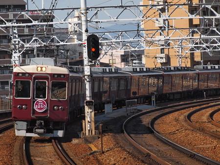 阪急6000系普通 阪急神戸線中津駅