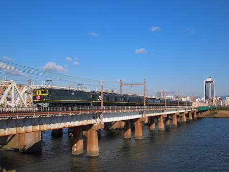 EF65 寝台特急トワイライトエクスプレス 東海道本線新大阪~大阪