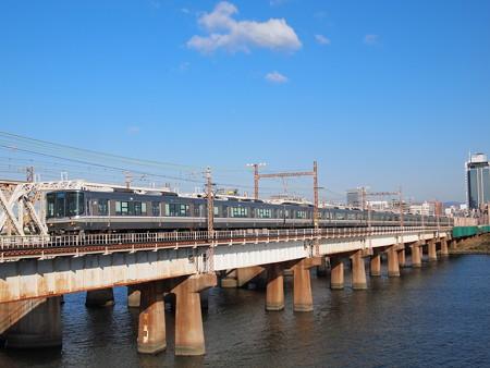 223系新快速東海道本線新大阪~大阪01