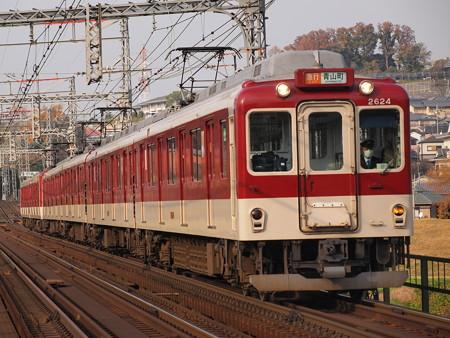 近鉄2600系急行  近鉄大阪線安堂~国分01