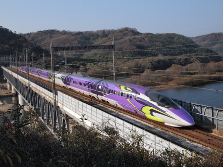 500系TYPE EVA こだま 山陽新幹線新倉敷~岡山