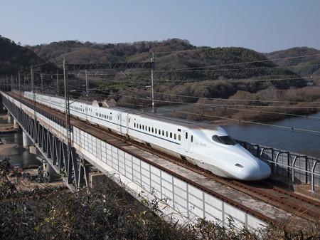 N700系みずほ 山陽新幹線新倉敷~岡山