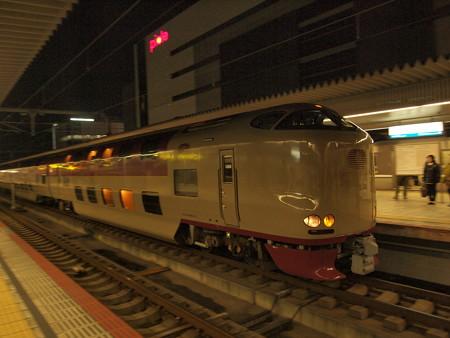 285系サンライズ出雲 山陽本線姫路駅05