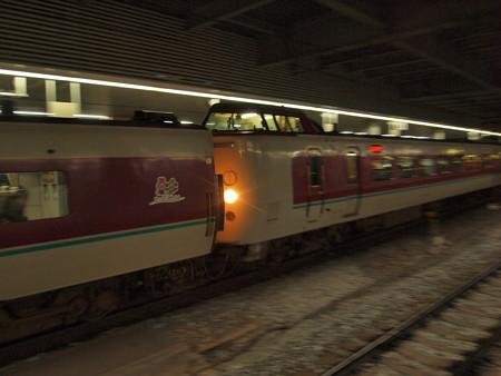 381系特急やくも 山陽本線岡山駅04