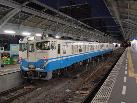 キハ40普通 高徳線高松駅03