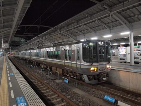 223系回送 予讃線高松駅03
