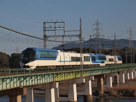 近鉄50000系しまかぜ 近鉄山田線宮町~小俣01