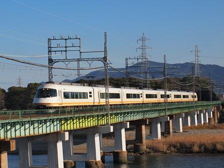 近鉄21000系名伊乙特急近鉄山田線宮町~小俣01