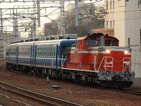DD51 網干訓練  山陽本線明石駅02