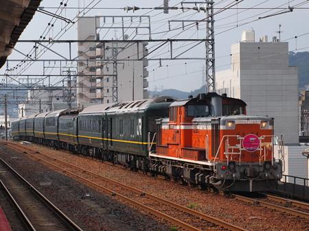 DD51 トワイライトエクスプレス 山陽本線下関駅05