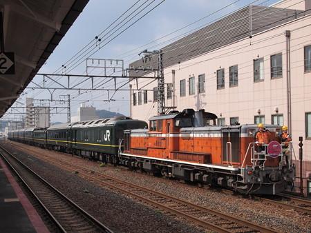DD51 トワイライトエクスプレス 山陽本線下関駅09