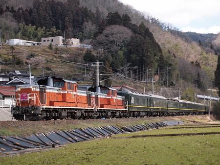 DD51 トワイライトエクスプレス 伯備線足立~備中神代02