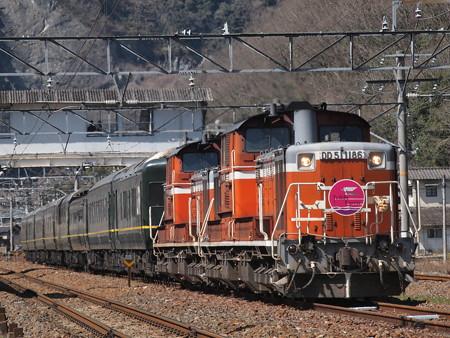 DD51 トワイライトエクスプレス 伯備線美袋~日羽07