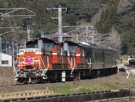 DD51 トワイライトエクスプレス伯備線備中広瀬~美袋01