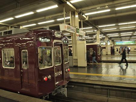 阪急5100系普通 阪急宝塚線梅田駅02
