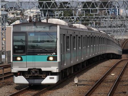E233系急行 小田急小田原線喜多見駅