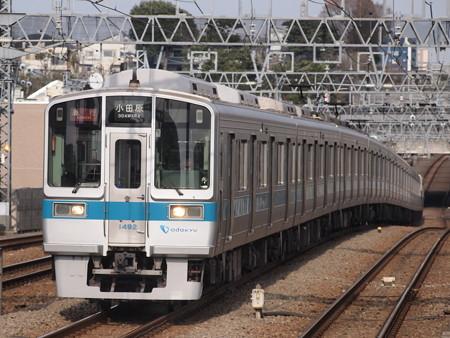 小田急1000形急行 小田原線喜多見駅