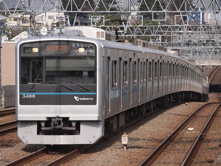 小田急3000形快速急行 小田急小田原線喜多見駅