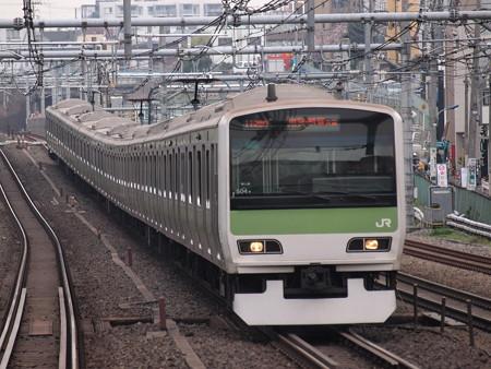 E231系普通  山手線駒込駅 01