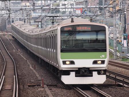 E231系普通  山手線駒込駅 04