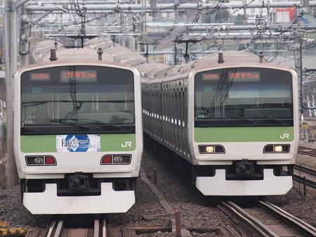 E231系普通  山手線駒込駅 05