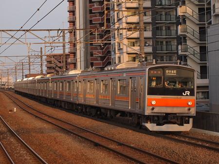 205系普通   武蔵野線新座駅 02