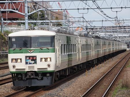 185系特急踊り子 東海道本線川崎~横浜02