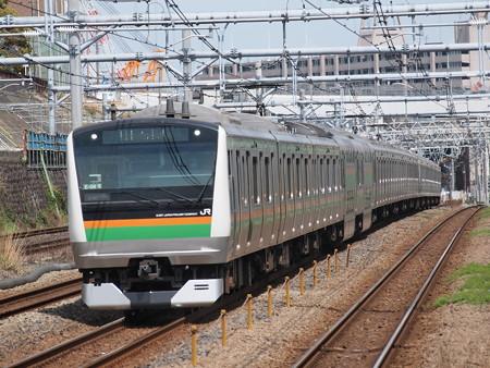 E233系普通 東海道本線川崎~横浜