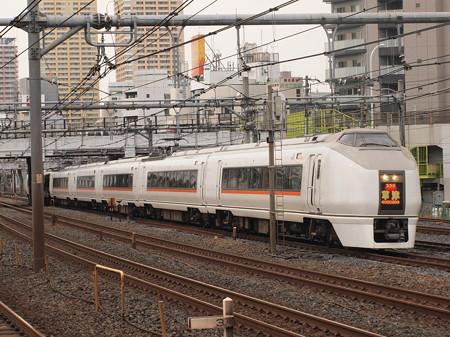 651系特急草津 東北本線上野~尾久