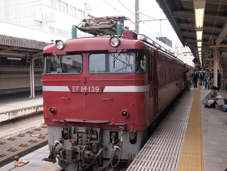 EF81 東北本線上野駅03