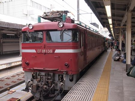 EF81 東北本線上野駅04