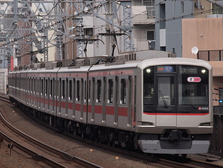 東急5000系各停 東急東横線武蔵小杉駅02