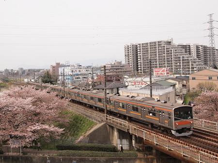 205系回送 中央本線日野~立川
