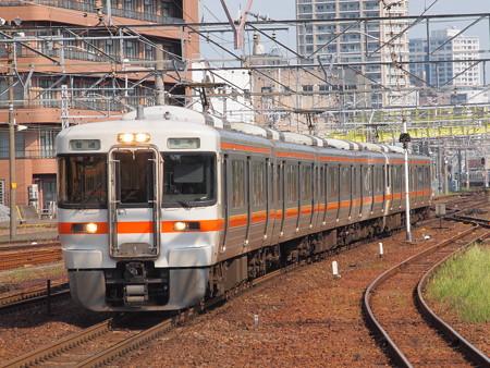 313系普通 東海道本線熱田駅01
