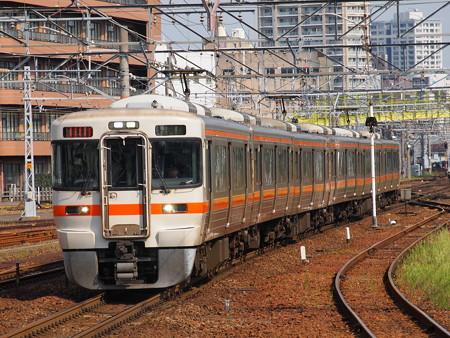 313系新快速 東海道本線熱田駅