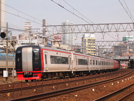 名鉄2200系特急 名鉄名古屋本線金山~神宮前02