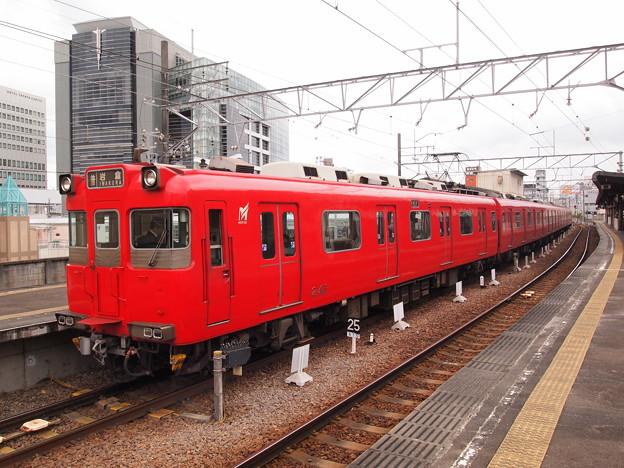 名鉄200系普通 名鉄三河線豊田市駅