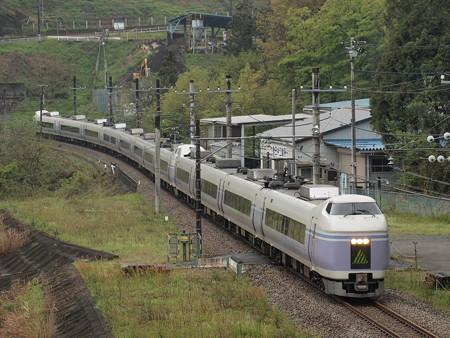 E351系特急スーパーあずさ 中央本線藤野~上野原01