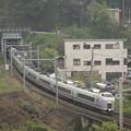 E351系特急スーパーあずさ 中央本線藤野~上野原05